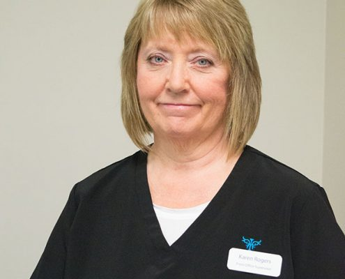 Front Office Supervisor, Karen Rogers