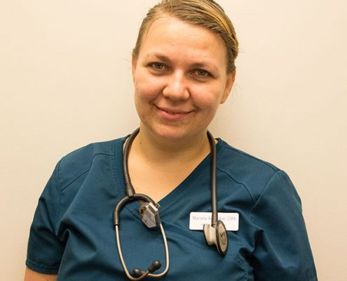 Mariana Kozhokar, Triage Assistant